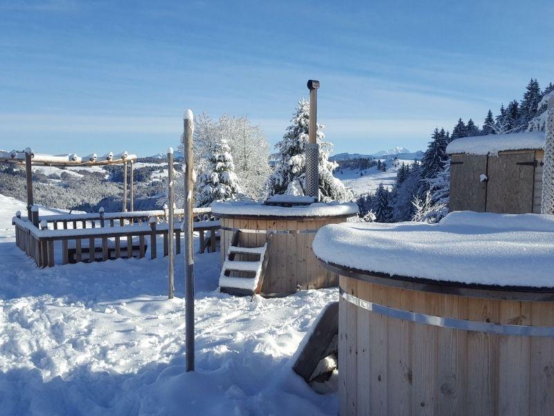 Bains nordiques en hiver