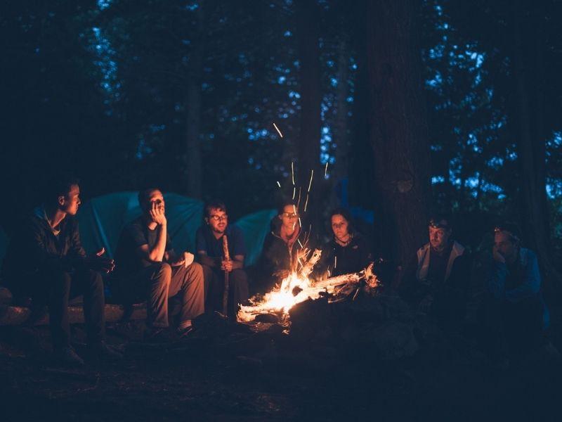 Soiree autour du feu